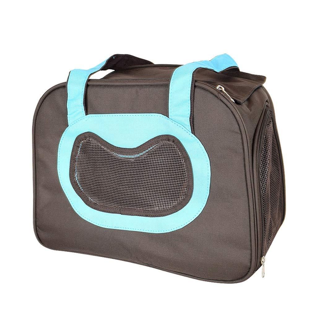 LuxTai Pet Carrier Animal Travel Bag Side/Up Carga con Mango Y ...