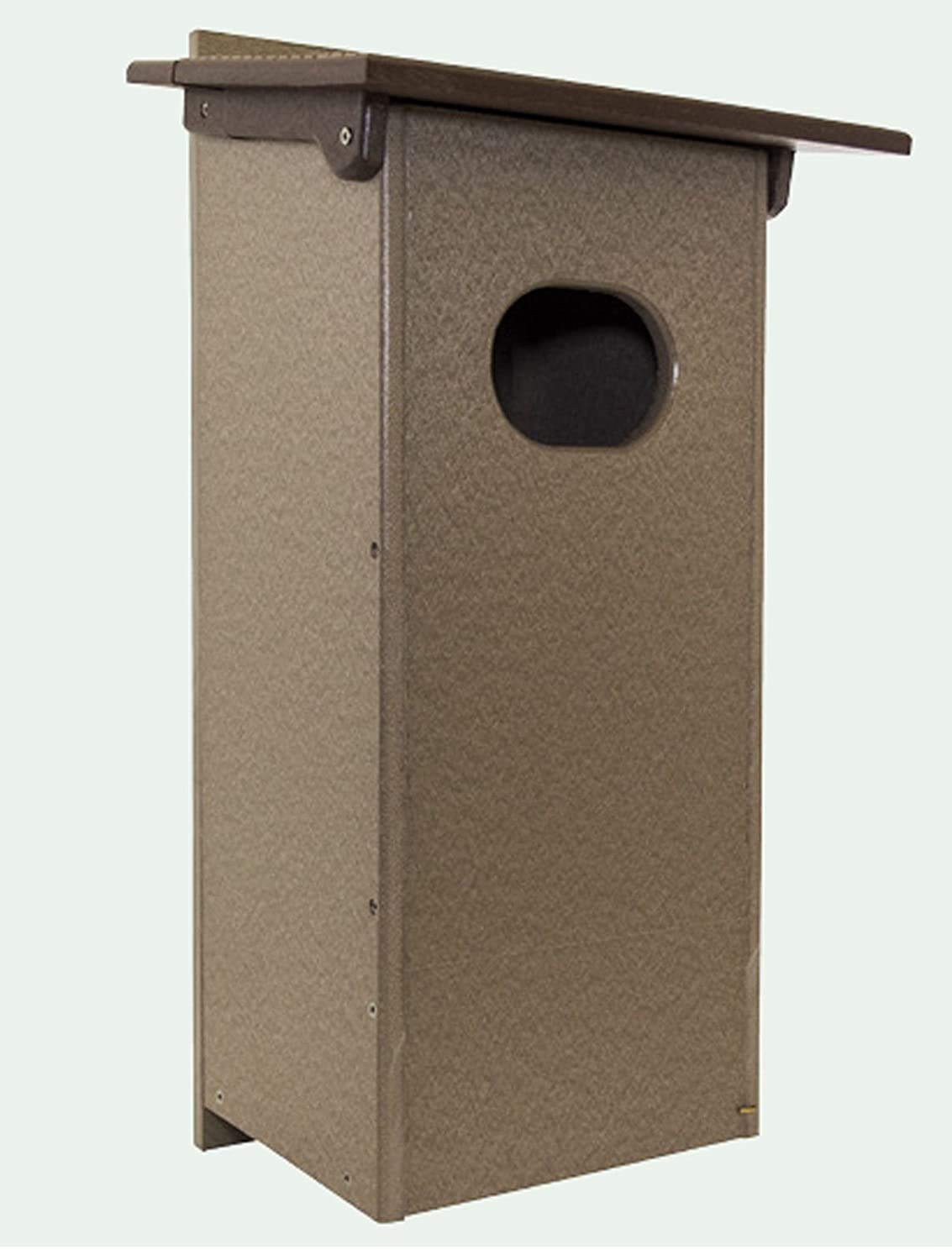 WOOD DUCK BOX Amish built Weatherproof Recycled Poly
