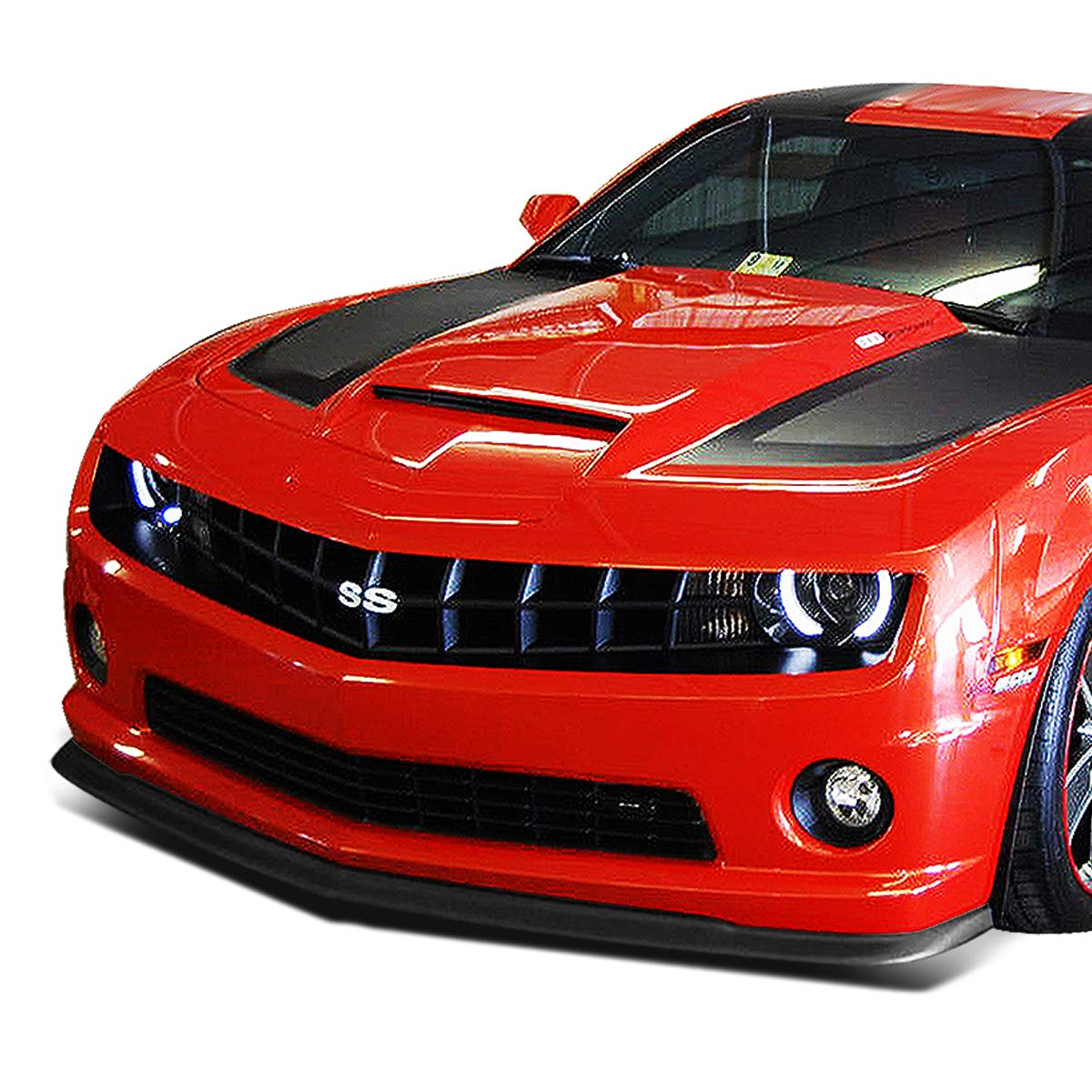 ZL1 Style Front Bumper Lip Splitter Chin Spoiler Wing Body Kit for 10-13 Chevy Camaro 1ss//2ss//ss