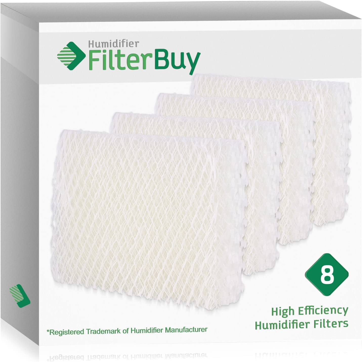 4 PACK COMPATIBLE KENMORE 758.144170 HUMIDIFIER REPLACEMENT FILTERS