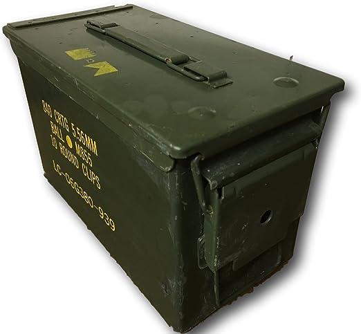 Cajas de munición militar, munición latas, elección de tamaños ...