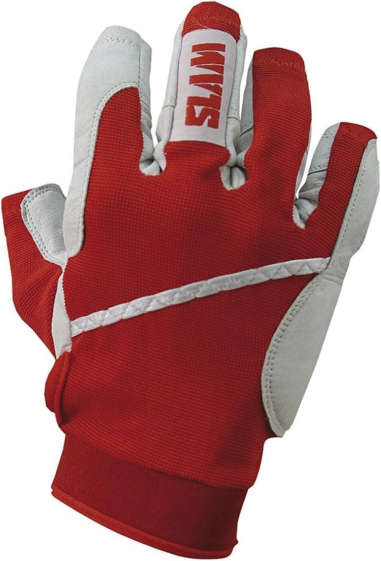 SLAM Sailing Gant Doigts 3//4/pour Homme 65/% Nylon 35/% Poliurethane Palm Bracelet r/églable