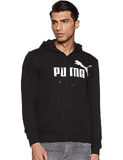 Sweatshirt Uomo Puma Ess FZ Hoody TR