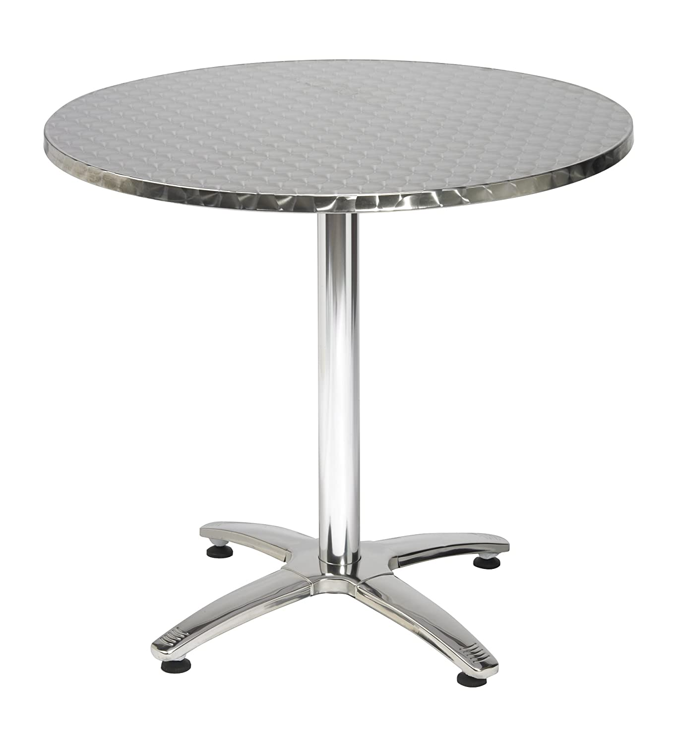Amazon.com: KFI Seating Outdoor/Indoor Round Pedestal Table X Base, Stainless  Steel, Commercial Grade, 32 Inch: Kitchen U0026 Dining