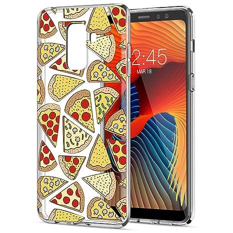 coque a8 samsung pizza