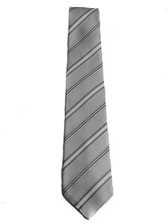Armani - Corbata - para hombre Gris gris luminoso (ral 7035) Talla ...