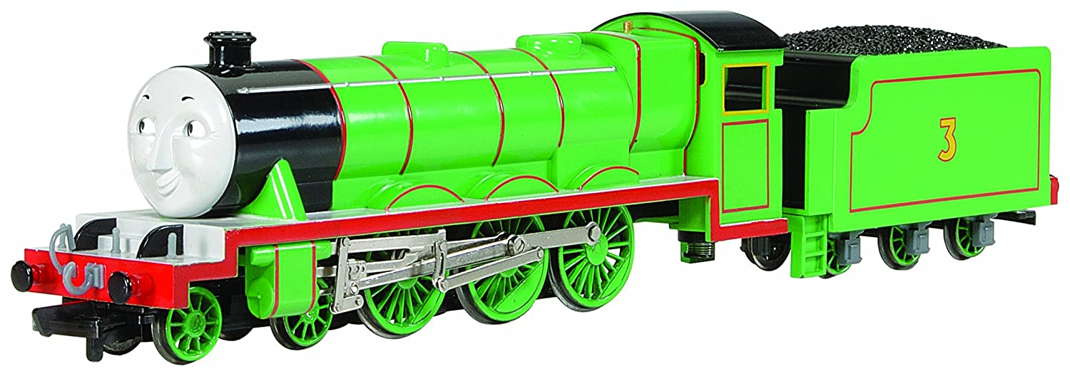 Amazon.com: Bachmann Trains Thomas And Friends - Henry The Green ...
