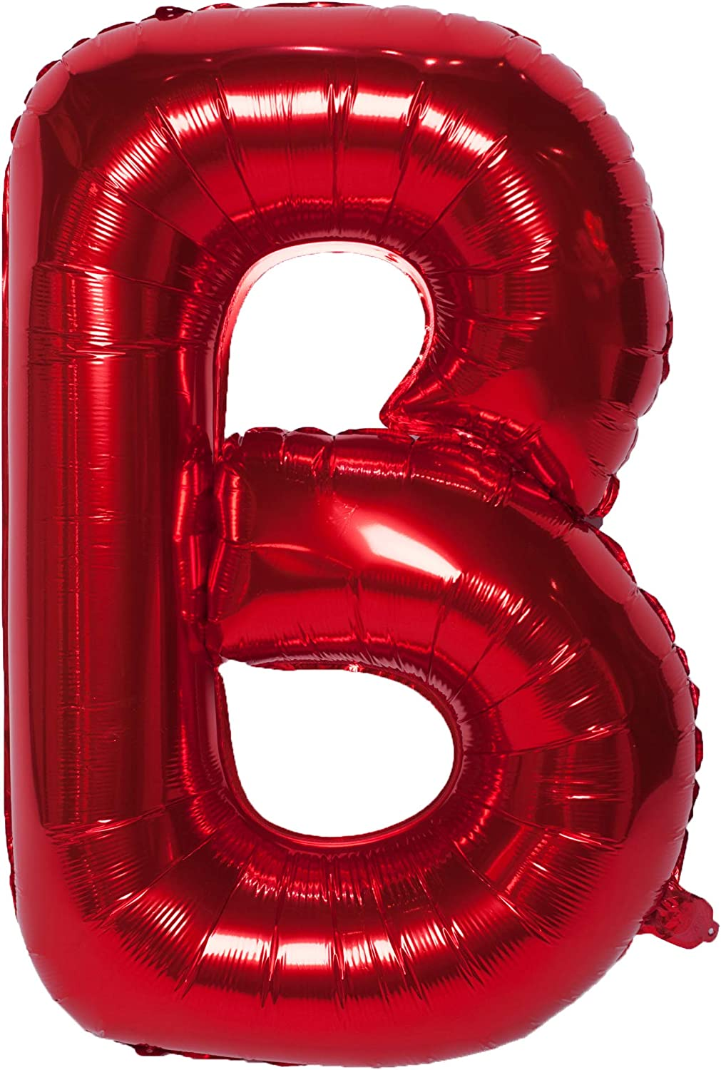 40 Inch Big Letter Alphabet Balloons Red Foil Mylar Balloons for Birthday Party Decoration Wedding Decor Bridal Shower Graduation Anniversary Supplies