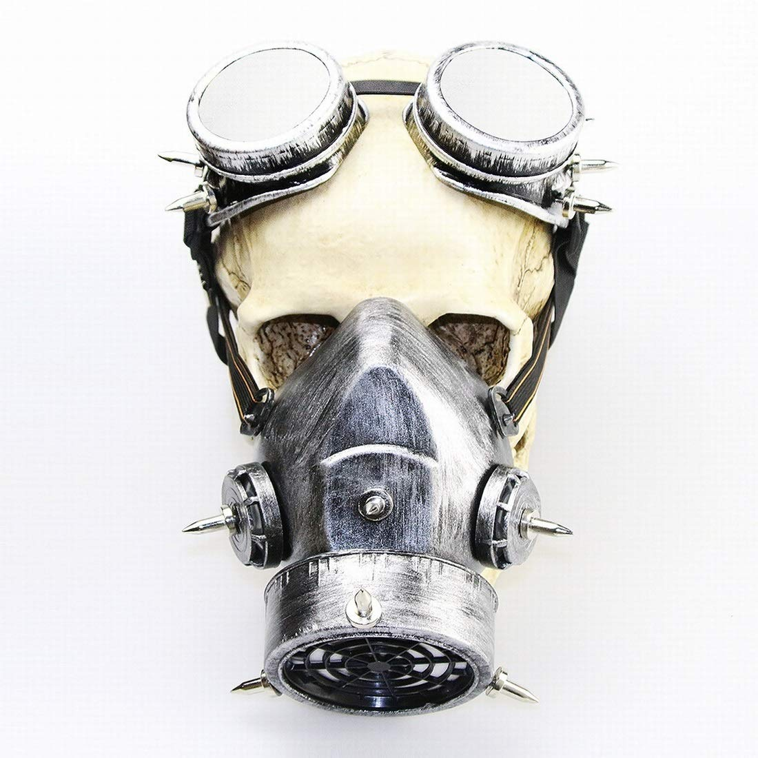 SHIZHESHOP Halloween Retro Gothic Maske Make-up Steampunk Gasmaske für Cosplay-Party (Farbe   1)