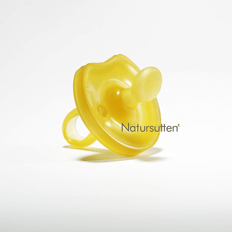 Free Natural Rubber Pacifier Natursutten BPA BF Round Medium