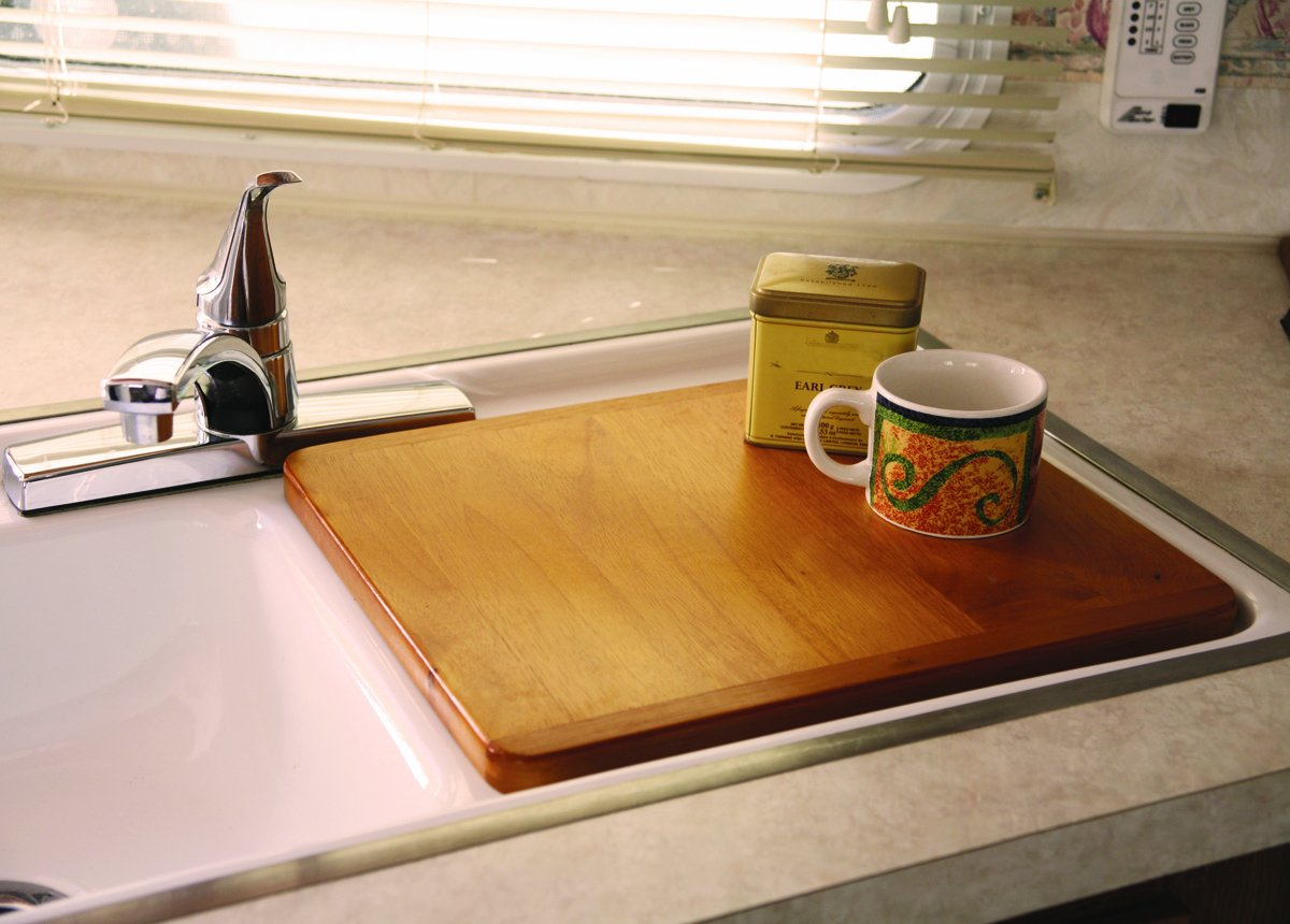 Nice Amazon.com: Camco 43431 Oak Accents Sink Cover (Oak Finish): Automotive