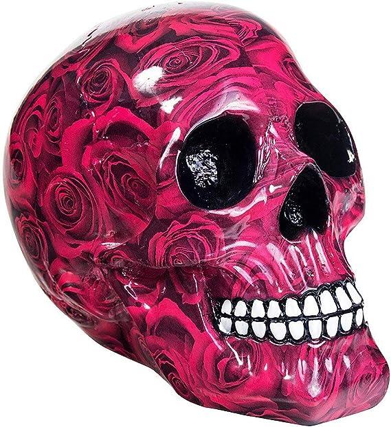 Nemesis Now Rose morts Crâne Squelette Os 15 cm Gothique Figurine Ornement Cadeau