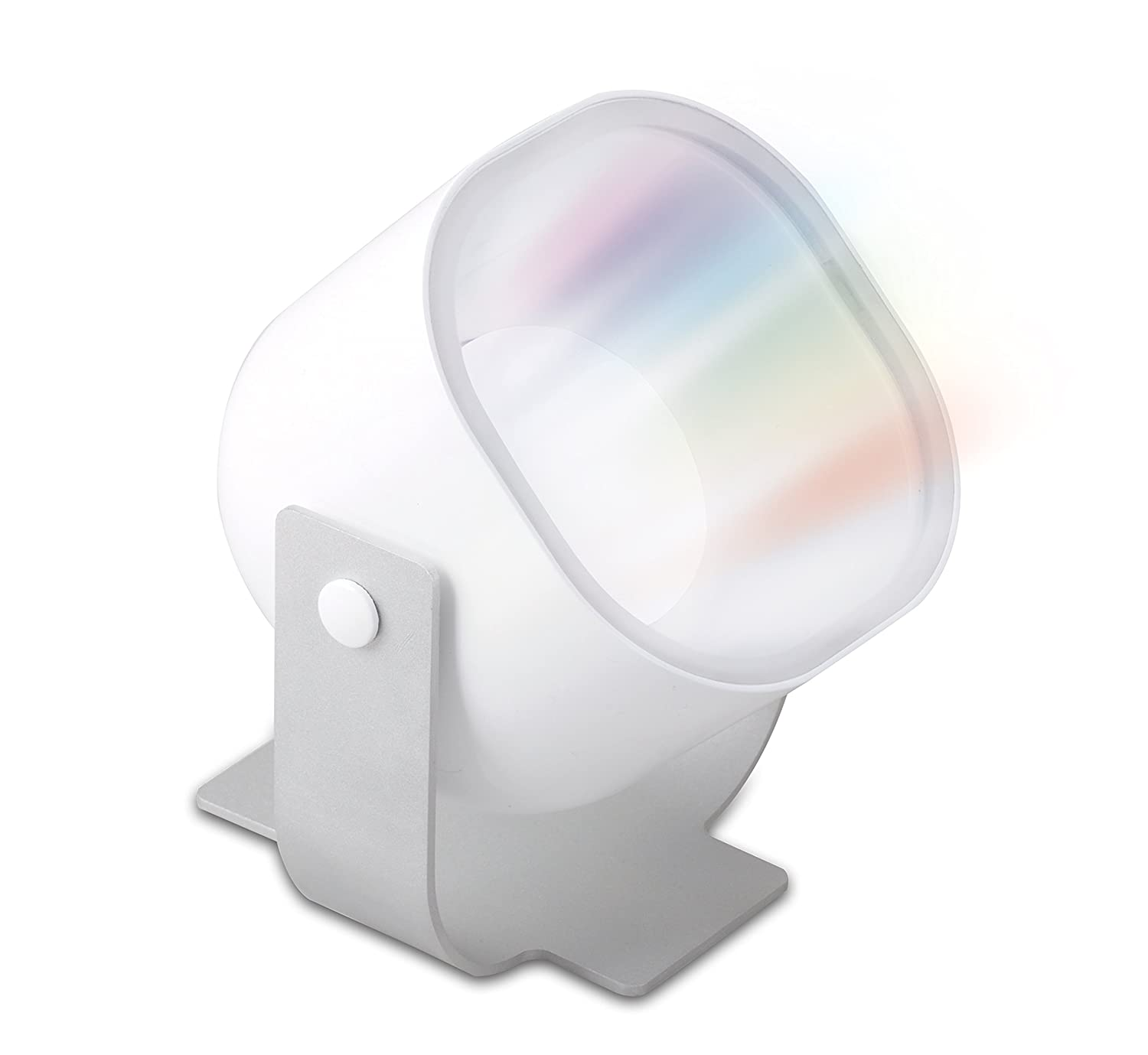 iDual ES06350G Lilac Portable Projector Light with Remote Control Capabilities Tao