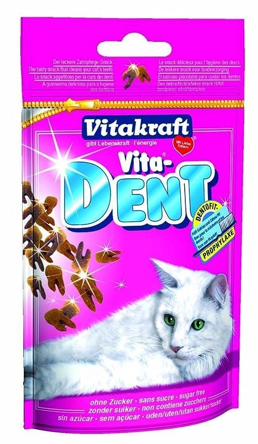 Vitakraft vita-dent Snacks para gatos 75 g