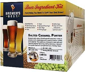 Brewer's Best Salted Caramel Porter Ingredient Kit for Home Brew Beer Making