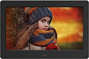 Digital Photo Frame 7 Inch 1280x800 16:9 IPS Widescreen Electronic Digital Picture Frame with Remote Control,...