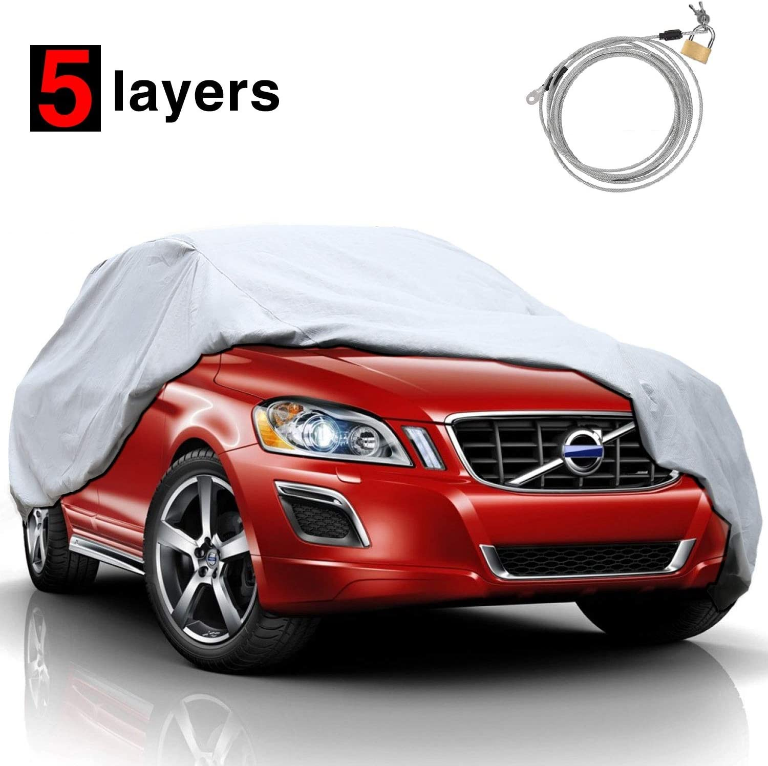 4. Kakit's SUV Car Cover Durable multi-layer protection for taller vehicles