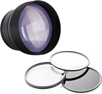 Lens Macro Nikon Coolpix P520 10x High Definition 2 Element Close-Up Inclu.