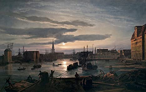Amazon.com: Johan Christian J.C.C. Dahl Copenhagen Harbour ...