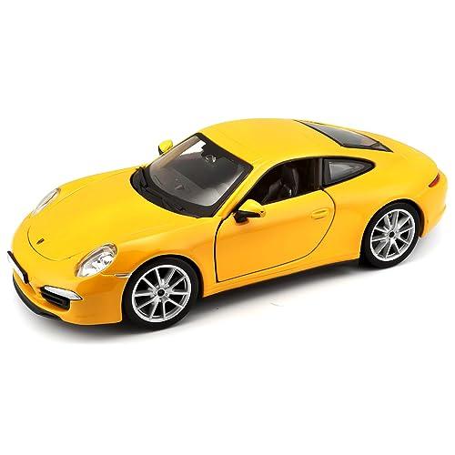 Bburago - 21065y - Véhicule Miniature - Modèle À L'échelle - Porsche 911 Carrera S - 2011 - Echelle 1/24 - Coloris aléatoire