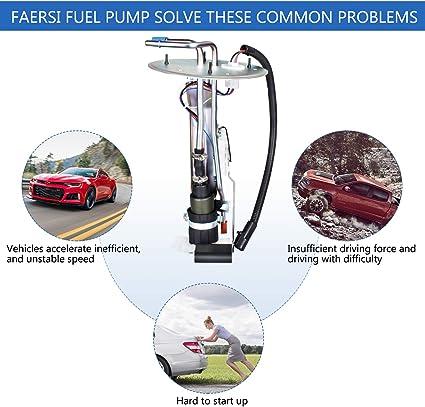 1999 Ford F250 4.2L 4.6L 5.4L 2004 F150 Heritage faersi Fuel Pump OE # E2237S XL3Z-9H307AA fit 1999-2003 Ford F150