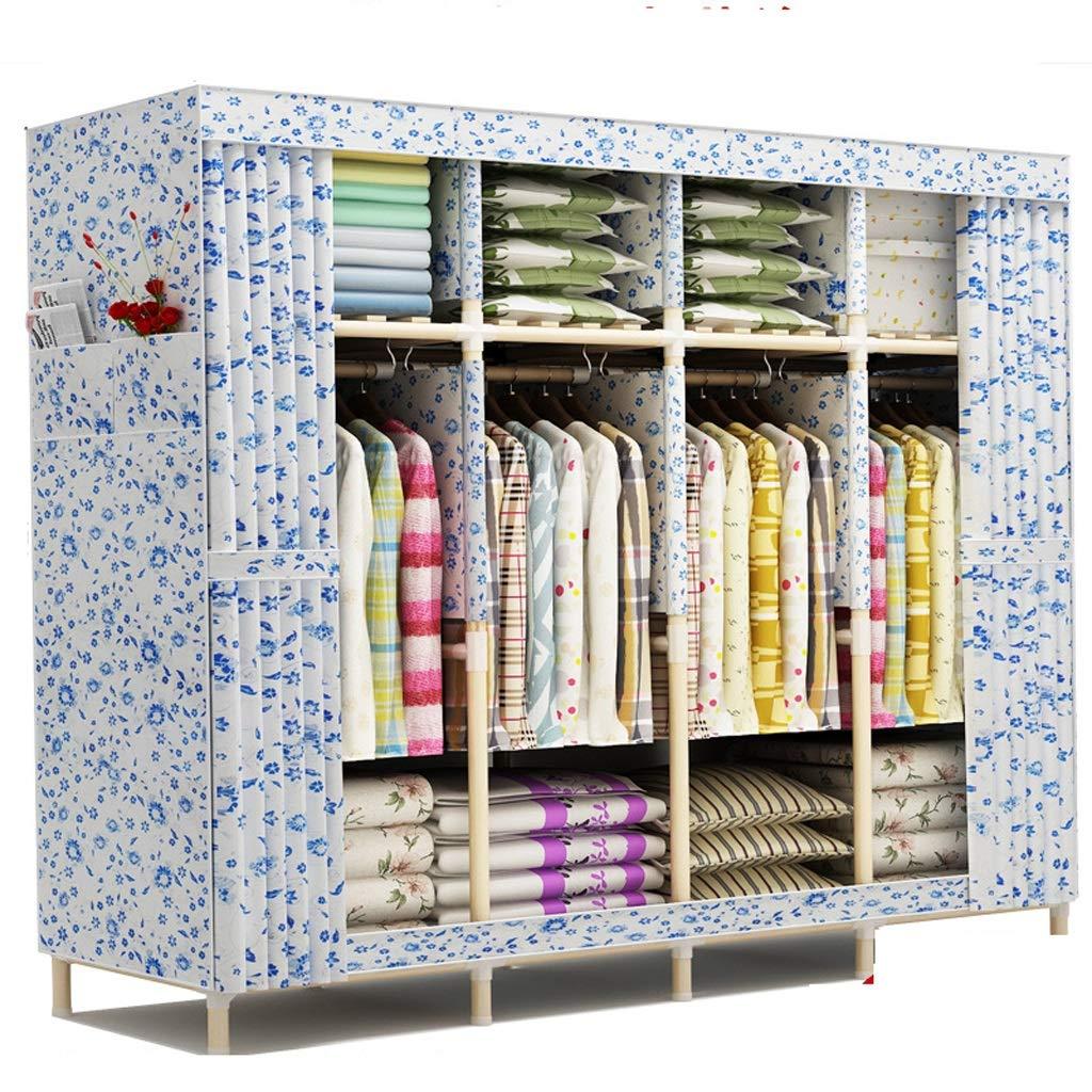 Hai Yan Boutique Cloth Wardrobe Cloth Wardrobe Assembly Folding Cabinet Storage Clothes Locker Large (Color : C) by Hai Yan