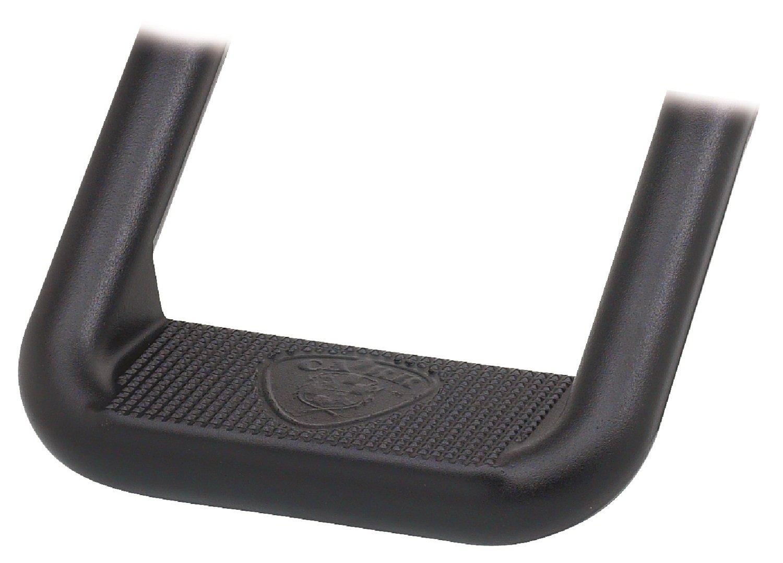 Carr 105771 HOOP II XP3 Black Powder Coated Step - Pair