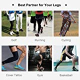 SONTHIN Leg Sleeves Compression Full Leg Long