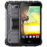 Ulefone Armor 2 Outdoor Smartphone ohne Vertrag (5 Zoll FHD Display, Octa-Core Prosessor, 6GB RAM+64GB ROM, 16MP/13MP Kameras, IP68-Zertifizierung, Wasserdicht, Dual-SIM (Nano), Android 7.0) dark grey