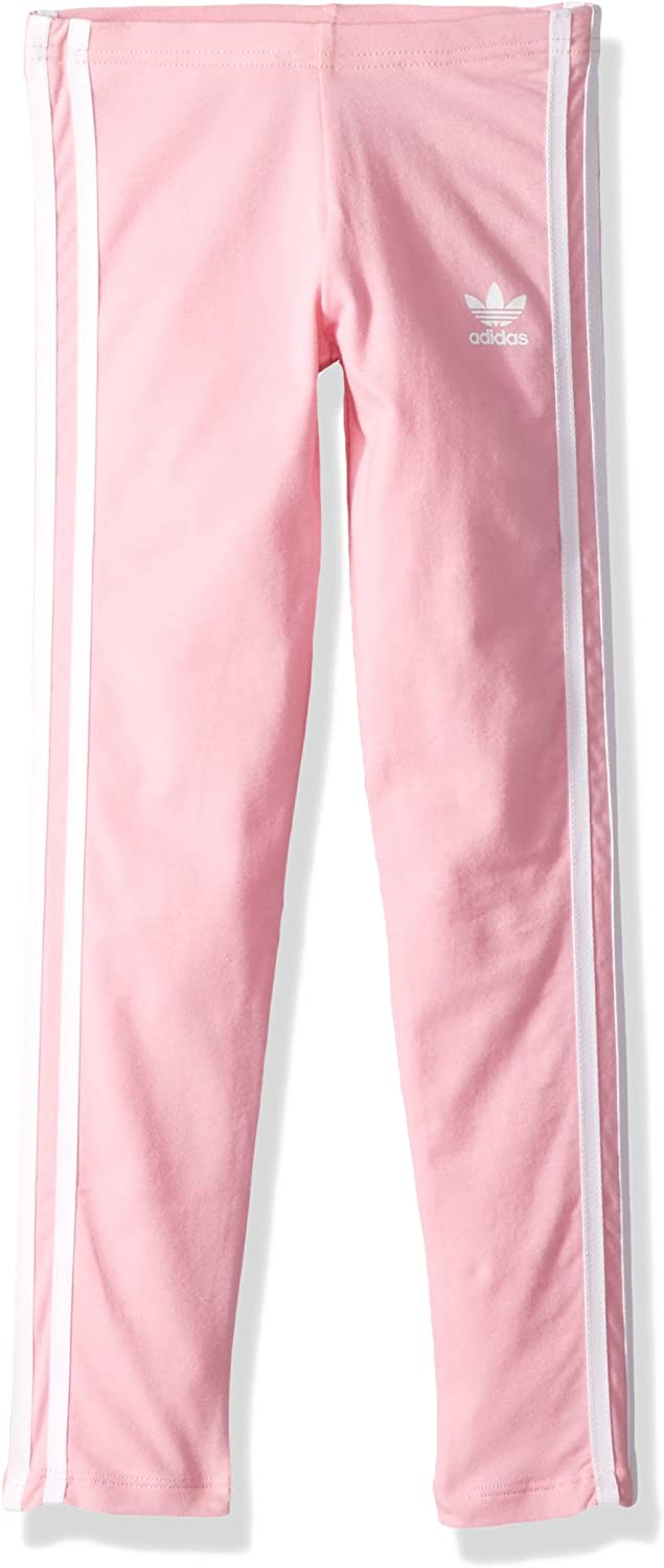 adidas Lin Legging Junior Girls Grey//Pink