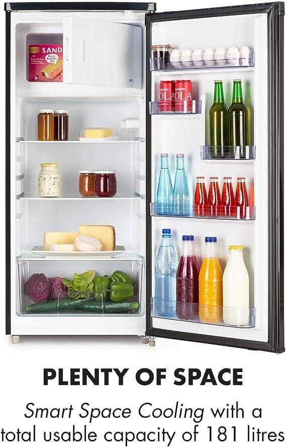 Klarstein Samara L • nevera • frigorífico combinado • Volumen ...