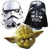 Star Wars 3 Mask Pack - Stormtroooper, Darth Vader and Yoda