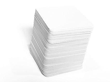 Amazon.com: 224 Juego de cartas cuadrados (acabado mate y ...