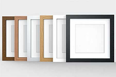 12x12 White Modern Photo Picture Poster Frame With Quality White