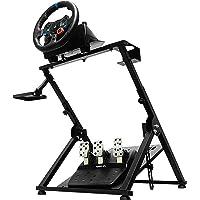 CINGO Racing Simulator Steering Wheel Stand Logitech for G25, G27, G29, G920, T300, T500 Thrustmaster T300RS. Wheel…
