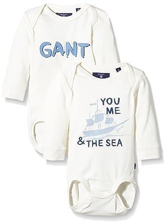46303ceab Gant Baby Nb. Two Pack Body Boy Bodysuit