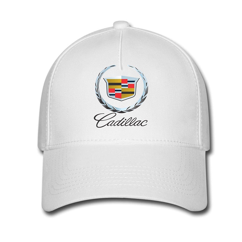 9bc3677858d19 DEBBIE Unisex Cadillac Logo Baseball Caps Hat One Size