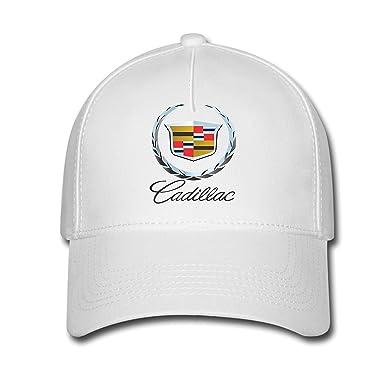 4b4e11e9f60d2 DEBBIE Unisex Cadillac Logo Baseball Caps Hat One Size