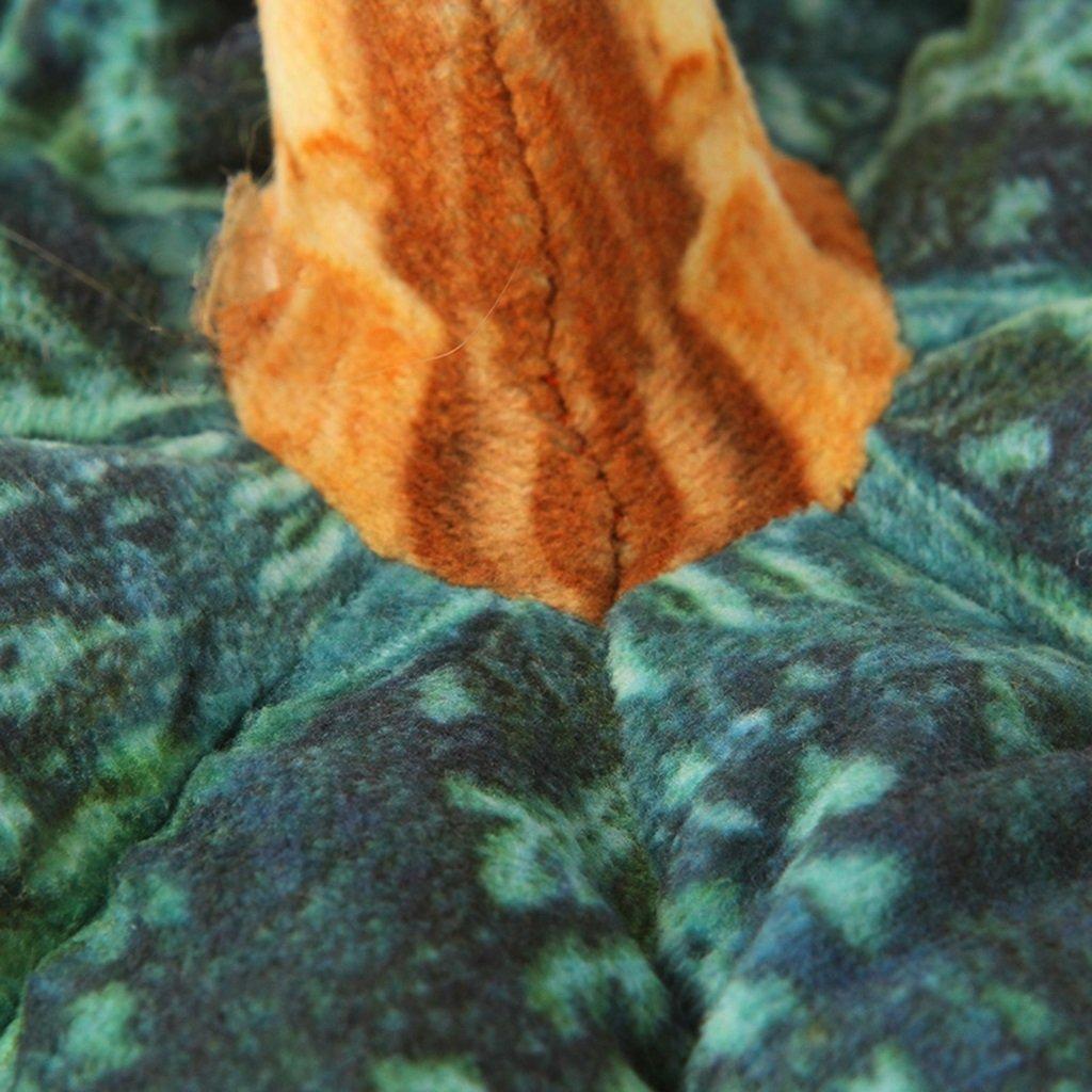 ZWL Almohada Almohada Almohada de calabaza almohadilla de simulación Almohada descanso Almohadas de cabecera Cojines de sofá Regalos festivos Regalo de cumpleaños moda. z ( Color : Amarillo , Tamaño : 303030CM ) b6577a