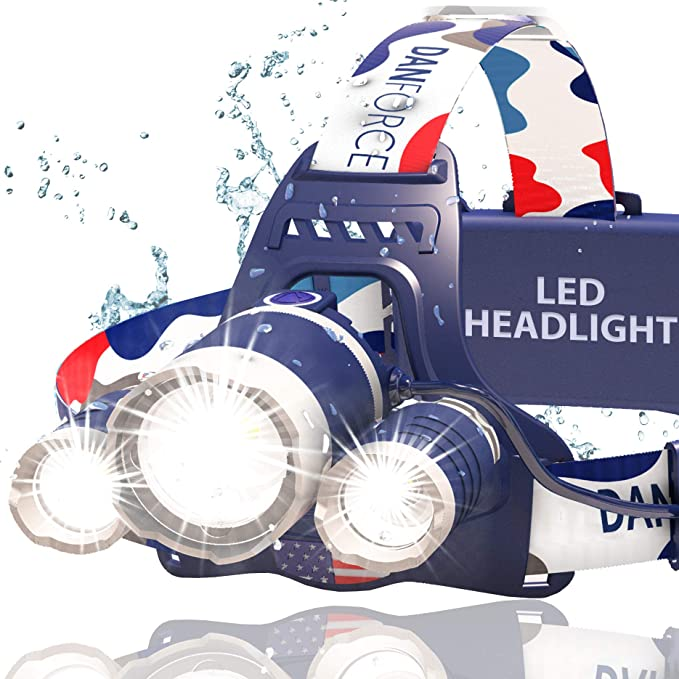 Best Fishing Headlamps : Danforce Led Headlamp