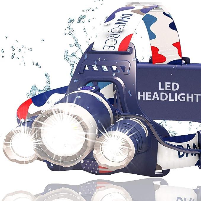 Best headlamp for hunting: DanForce Headlamp
