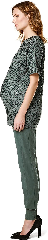 Supermom Damen Pants OTB Sweat Green Umstandshose