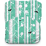 Thirsties One Size All In One Cloth Diaper, Snap Closure, Aspen Grove