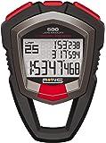 Motus Millennium MT68 Cronómetro con medición de 500 tiempos (Vuelta/Fracción) y definición a 1/1000 segundo Negro