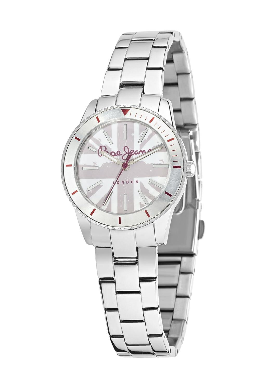Pepe Jeans Damen-Armbanduhr CHARLIE Analog Quarz Leder R2351105004