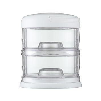 Innobaby Packin/' Smart Stackable Snack Container 3 Tier