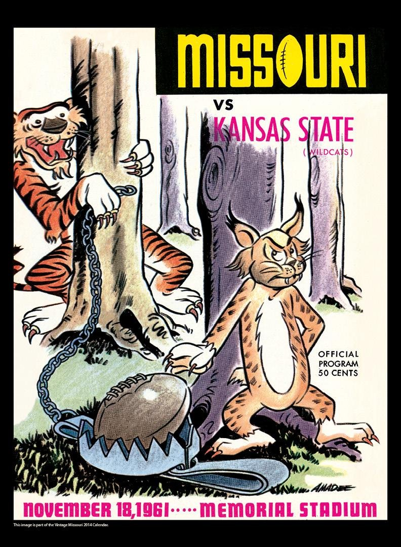 Asgard Press Missouri Tigers 2014 Vintage Football Calendar: Amazon.co.uk:  Office Products