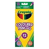 Crayola - 12 Coloured Pencils