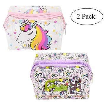Amazon.com: Estuche organizador para bolígrafos de unicornio ...