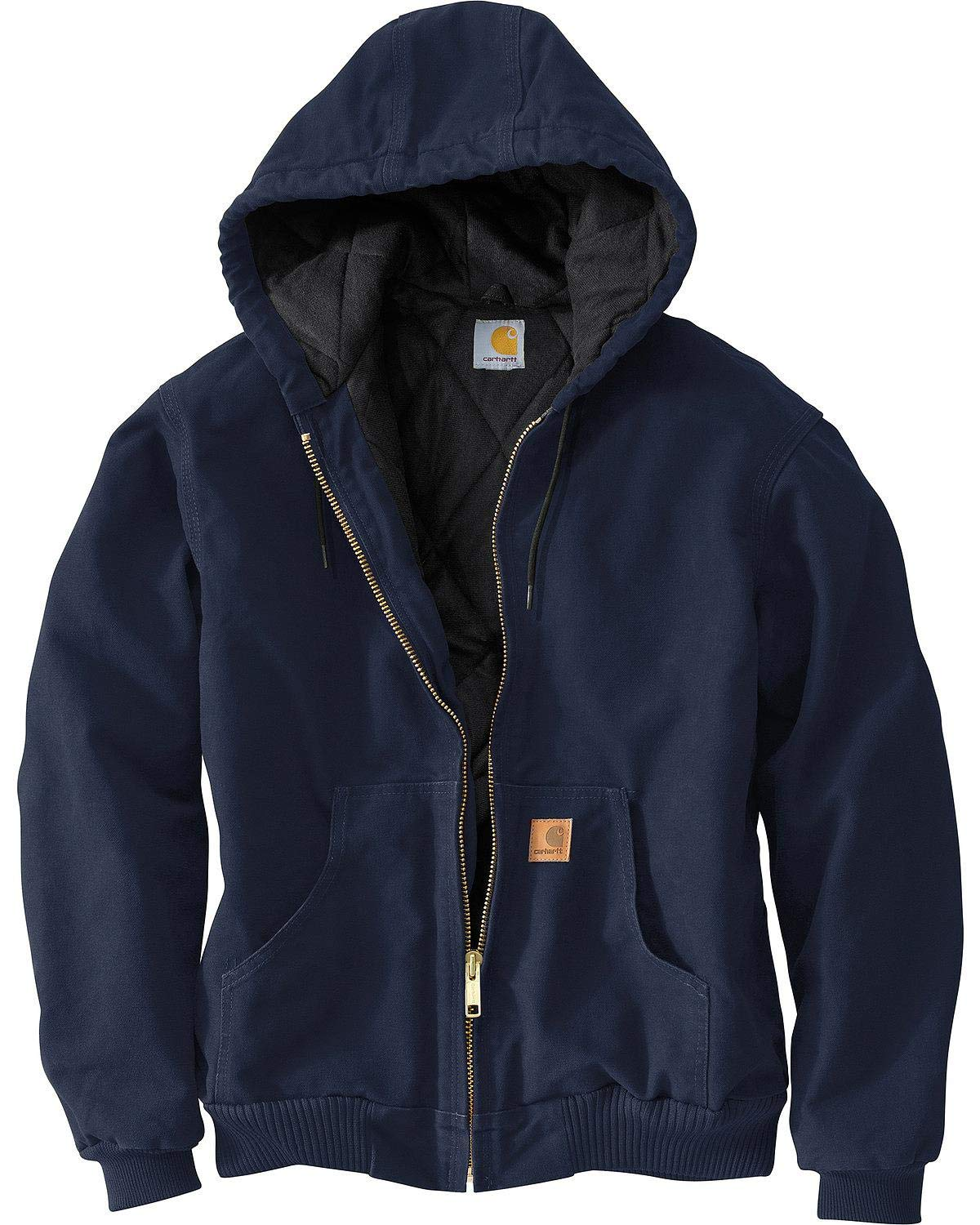 Carhartt Men's Sandstone Active Jacket,Midnight,Large by Carhartt